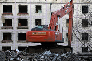 Снос московских пятиэтажек