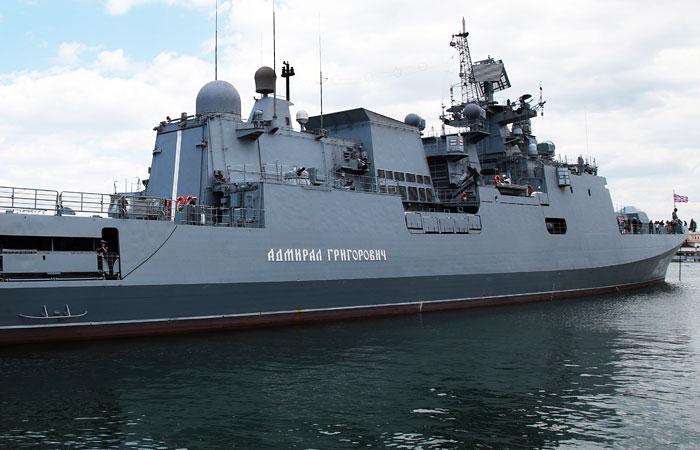 """Fox News сообщил о движении """"Адмирала Григоровича"""" в направлении эсминцев ВМС США"""