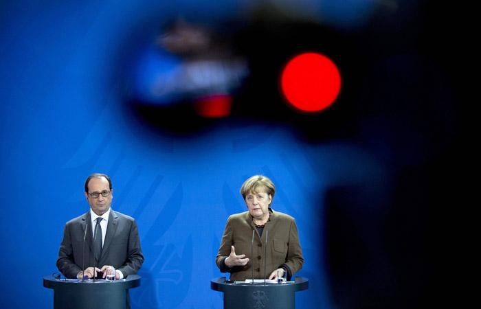 Олланд и Меркель назвали Асада ответственным за ракетные удары США по Сирии