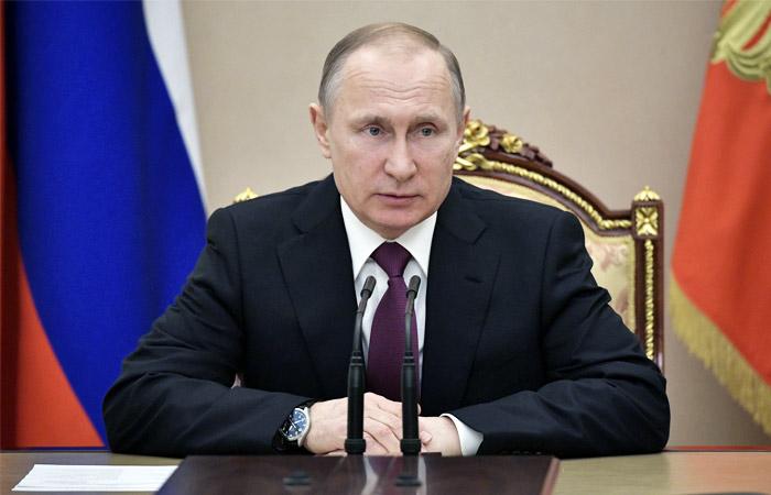 Путин обсудил с постоянными членами СБ РФ ситуацию в Сирии после ударов США