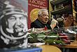 """2013 год. Гречко презентовал в Москве книгу своих мемуаров """"Космонавт №34. От лучины до пришельцев"""""""