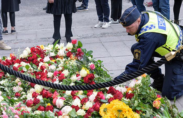 Шведская милиция задержала 2-го подозреваемого всовершении теракта вСтокгольме