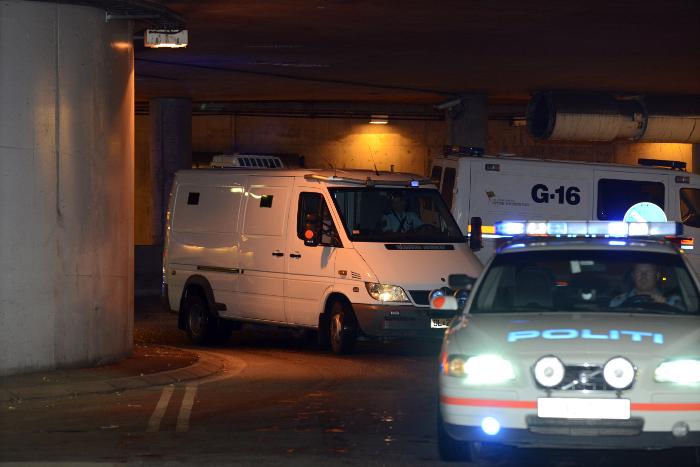 Вцентре Осло милиция произвела контролируемый подрыв подозрительного предмета