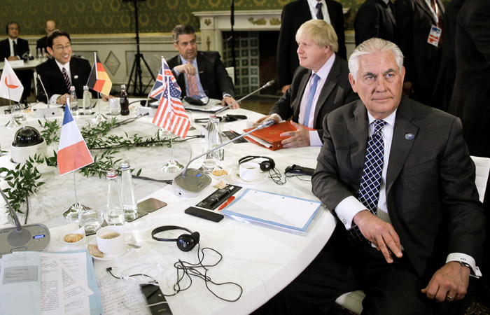 Главы МИД G7 не приняли решение о расширении санкций против России