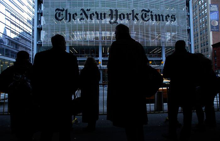 New York Times получила Пулитцеровскую премию за статьи о влиянии России