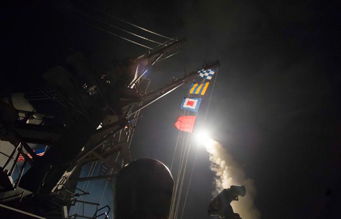 Пентагон: Ракетный удар уничтожил 20% сирийской боевой авиации