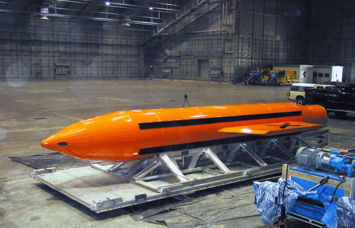 США сбросили на позиции ИГ мощнейшую неядерную авиабомбу