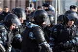 Четырех участников<noindex> <a  target=_blank   href=/index4.php ><big>акции</big></a></noindex> протеста в Столице обвинили в насилии против полицейских