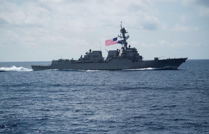 Авианосец США находится нарасстоянии удара отКНДР