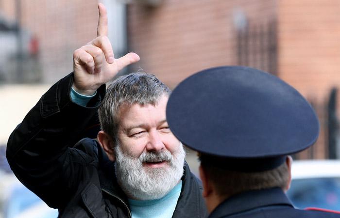 Вячеслав Мальцев арестован на 15 суток за неповиновение полицейским на акции в Москве