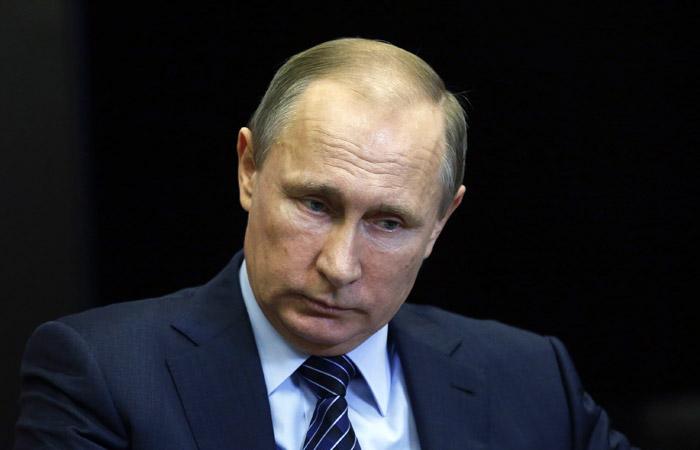Стал известен заработок В. Путина за2016 год