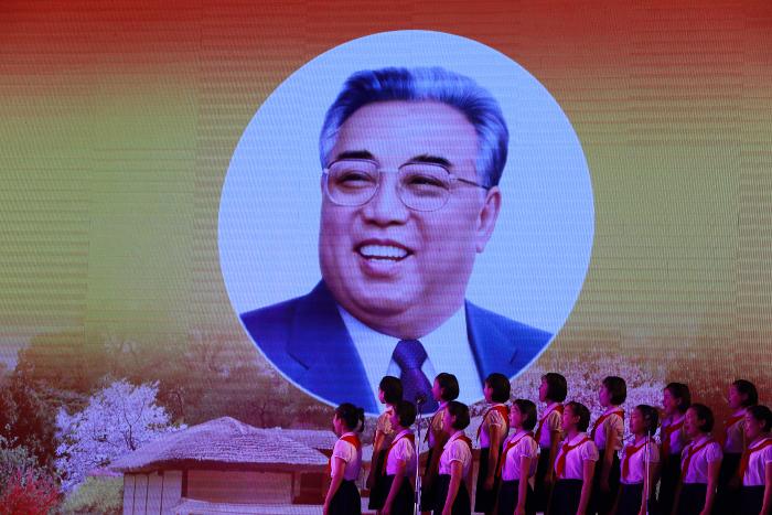 В Северной Корее наступил 105-й день рождения Ким Ир Сена