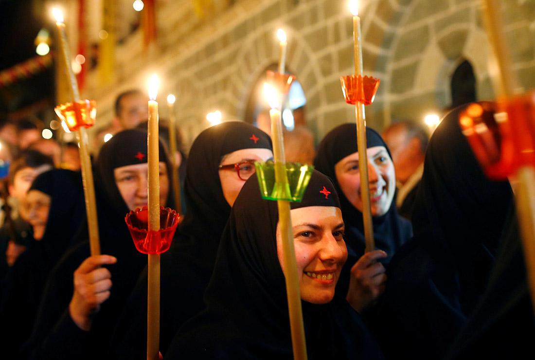 Празднование Пасхи в мире