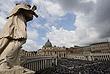На пасхальной службе папы Римского в Ватикане
