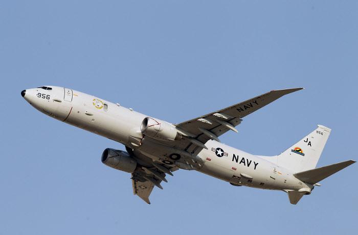 Американский военный самолет провел разведку вблизи побережья Крыма