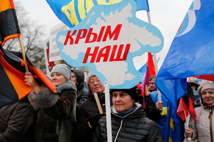 Две трети россиян высказались о пользе воссоединения с Крымом