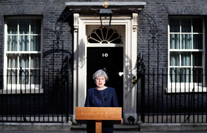 Премьер Великобритании назначила досрочные выборы в парламент