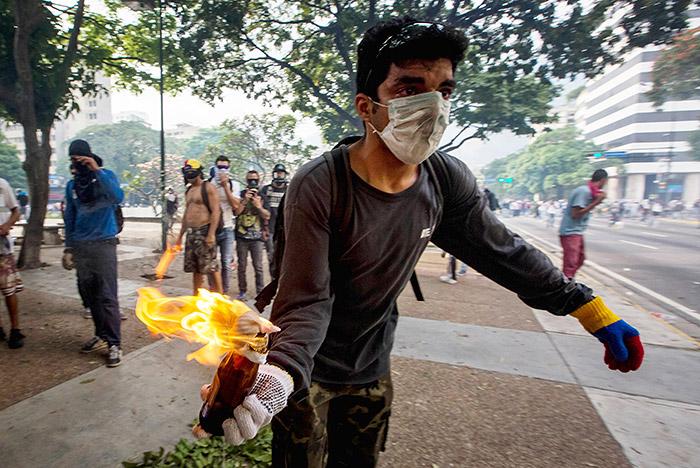 Три человека погибли в ходе оппозиционной демонстрации в Венесуэле