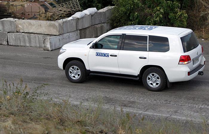 В ЛНР заявили о гибели гражданина США при подрыве машины ОБСЕ