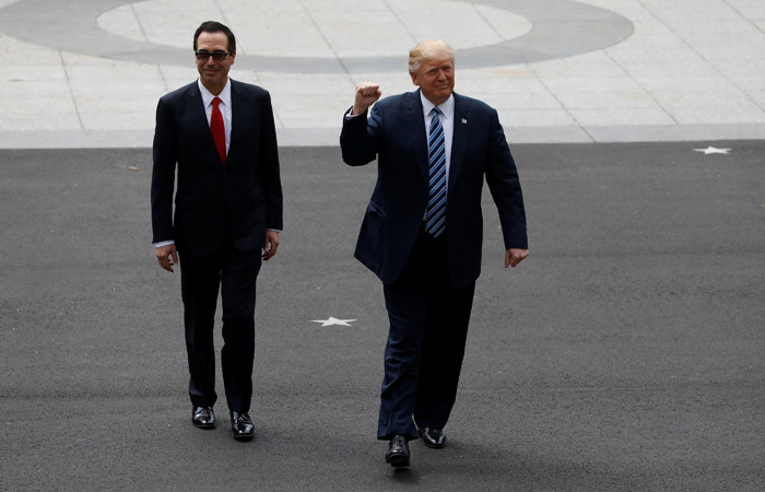 Всреду Трамп объявит оначале налоговой реформы вСША