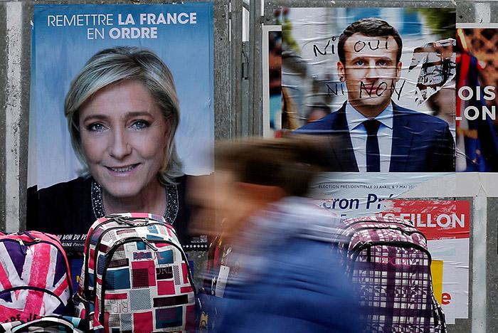 Во Франции огласили окончательные результаты первого тура президентских выборов