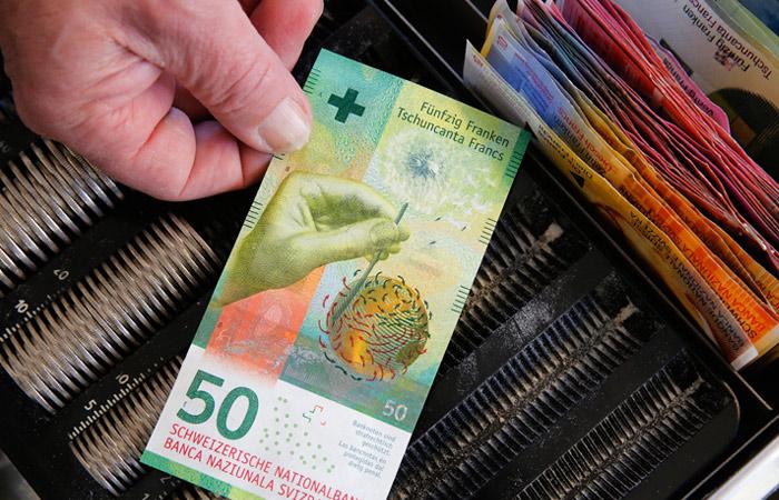 Банкнотой следующего года признали 50 швейцарских франков