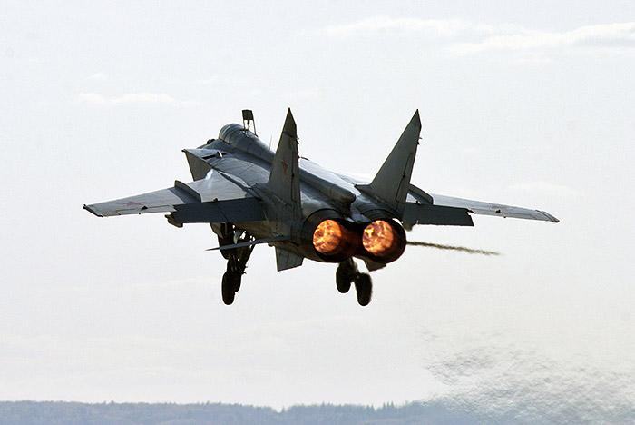 Истребитель МиГ-31 разбился в Бурятии