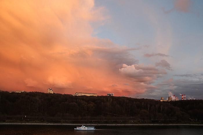 Летняя пассажирская навигация открылась на Москве-реке
