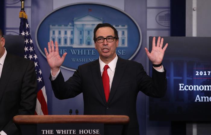 Белый дом представил проект налоговой реформы