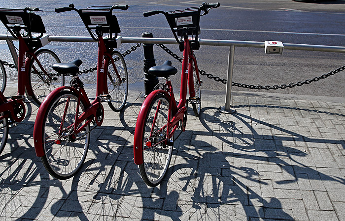 В российской столице открылся велопрокат