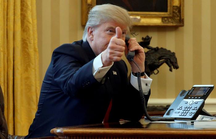 Путин побеседовал сТрампом потелефону