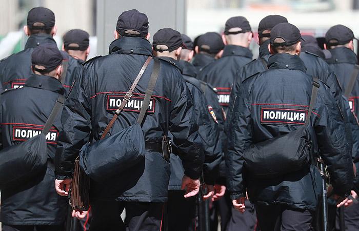 Московская полиция сообщила о семи задержанных на Болотной площади
