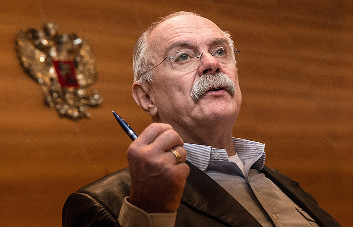 """Михалков объяснил свою позицию по поводу полученной """"Ельцин Центром"""" премии"""