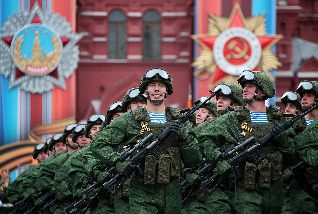 Парад Победы в Москве - фото 1 из 14