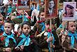 Участники акции памяти в Симферополе в Крыму