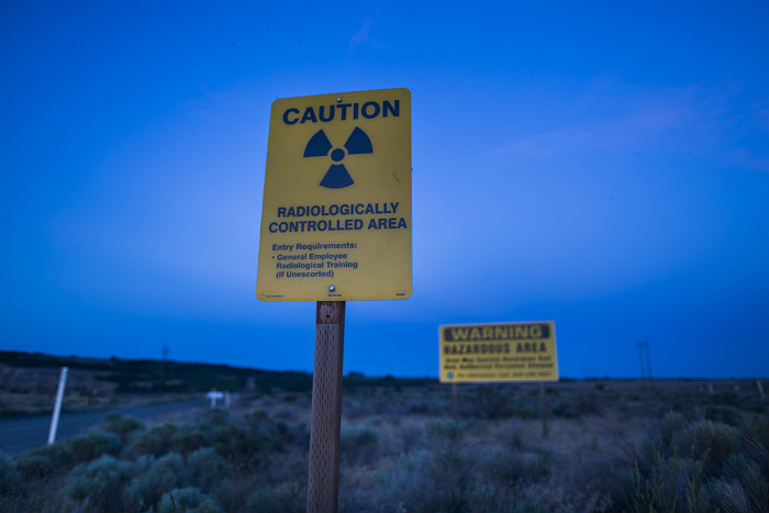 Вхранилище радиоактивных отходов вСША рухнул тоннель