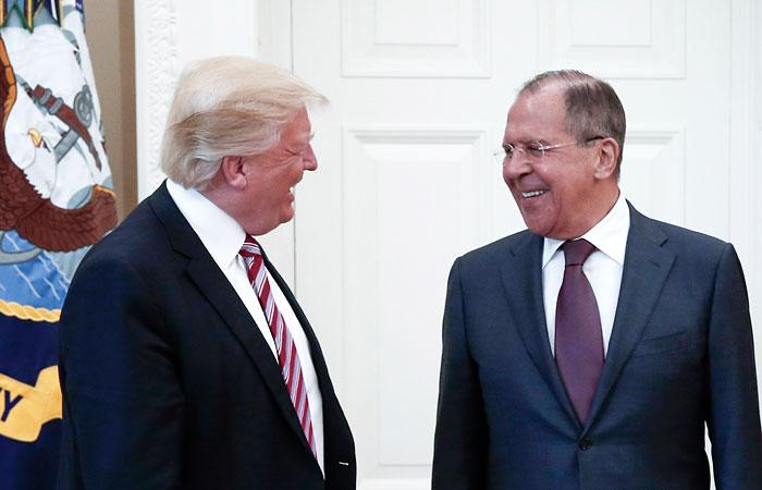 Трамп обсудил с Лавровым ситуацию в Сирии и другие мировые проблемы