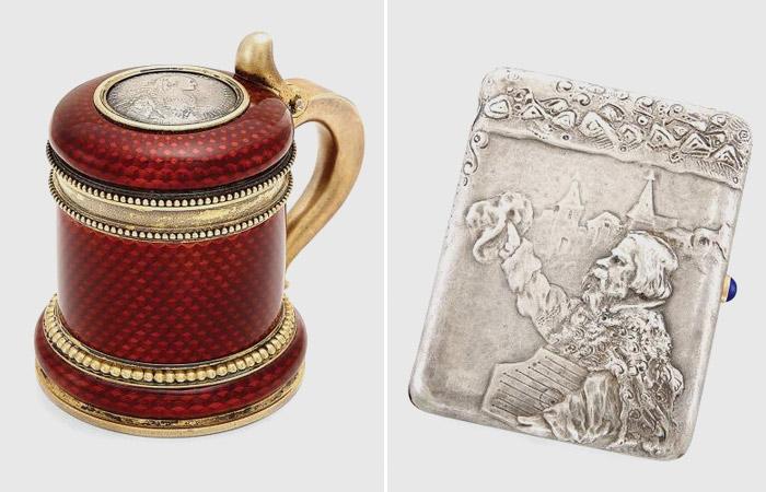 На аукционе в Нью-Йорке продадут работы Коровина и Фаберже