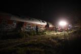 Как минимум четыре человека погибли при аварии с пассажирским поездом в Греции