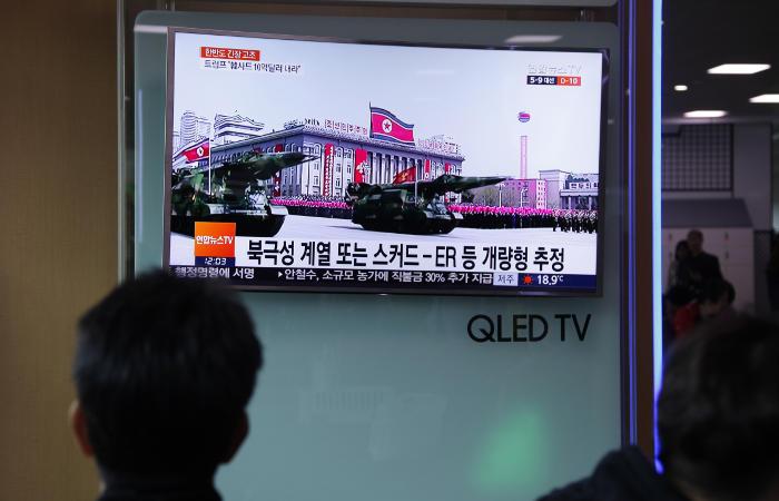 Южная Корея сообщила о новых ракетных испытаниях КНДР