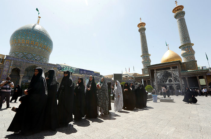 Хасан Рухани переизбран президентом Ирана