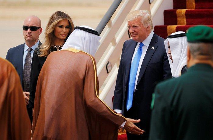 Трамп прибыл с визитом в Саудовскую Аравию