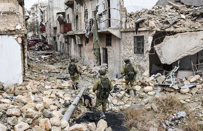 СМИ сообщили о гибели двух российских военных в Сирии