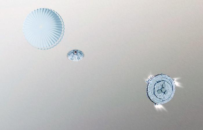 """Стала известна причина крушения модуля """"Скиапарелли"""" при посадке на Марс"""