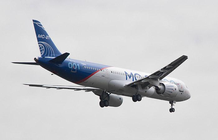 Русский самолет МС-21 получил разрешение на 1-ый полет