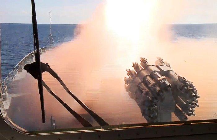 Российские военные уничтожили боевиков ИГ ударами крылатых ракет из Средиземного моря