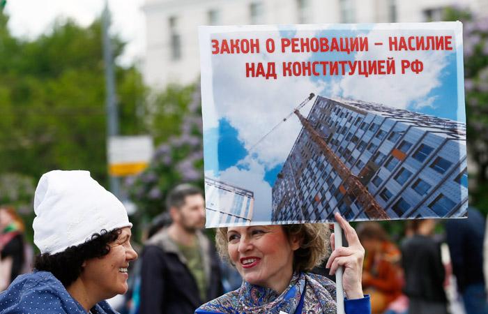 Власти Москвы допустили строительство высоток по программе реновации
