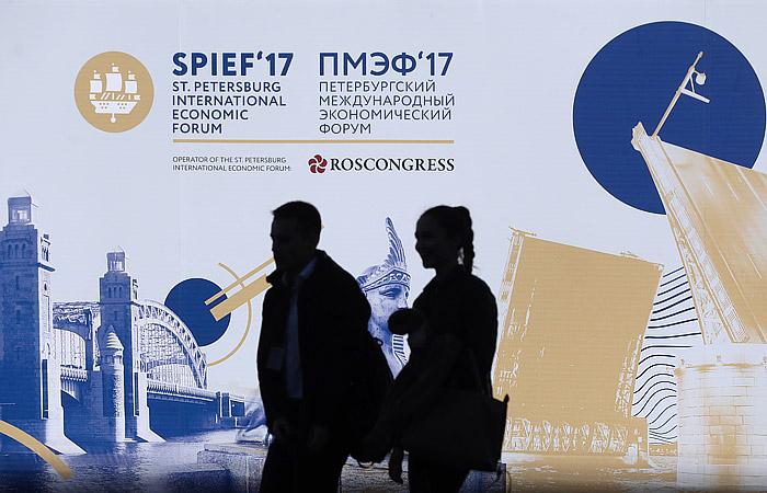 Самыми упоминаемыми спикерами ПМЭФ-2017 стали Путин и Миллер