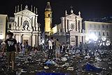 Число пострадавших в результате давки в Турине превысило 1,5 тыс.