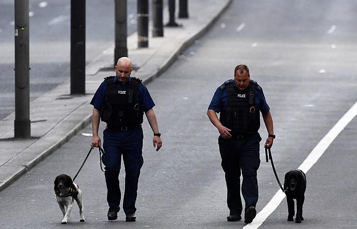 Всвязи стерактами встолице Англии  задержаны 12 человек